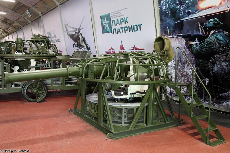 Стенд аппарата заряжания Т-72 (T-72 loader training simulator)