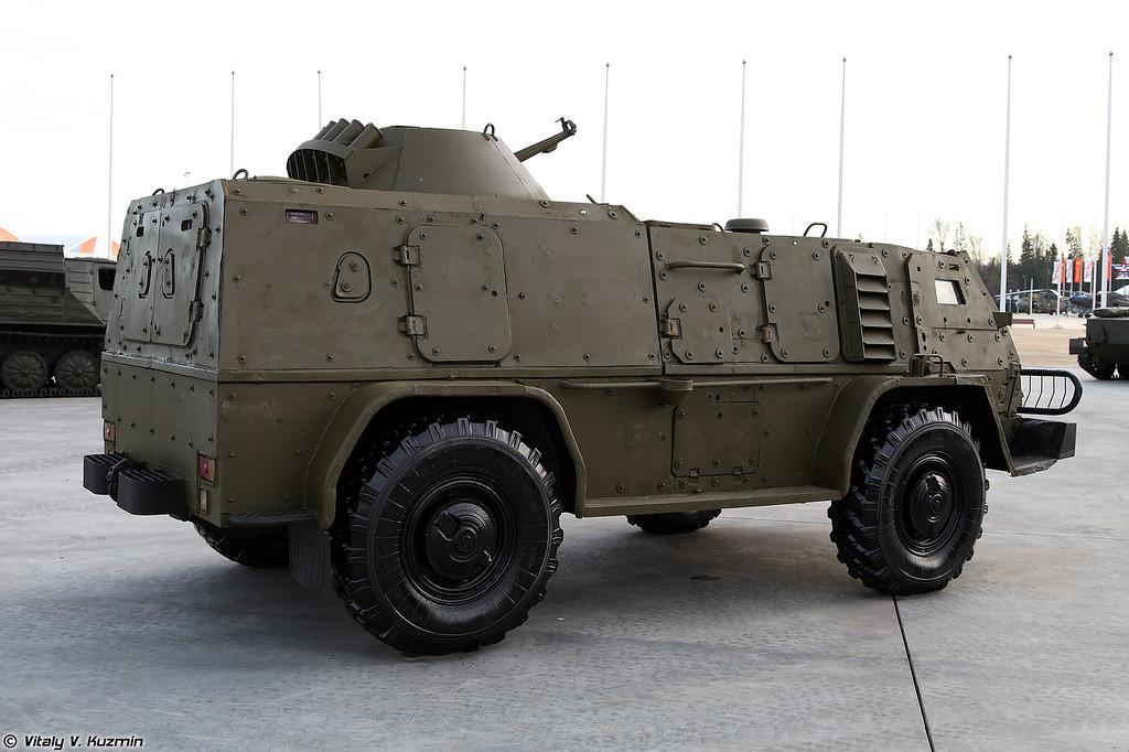 ГАЗ-39371 Водник с дополнительным бронированием (GAZ-39371 Vodnik with additional armor)