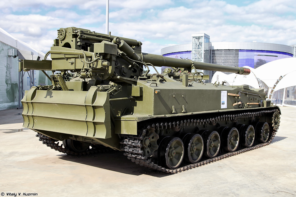 152-мм самоходная пушка 2С5 Гиацинт-С (152mm self-propelled gun 2S5 Giatsint-S)