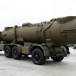 ?????????? ???????? ????????? ?????????? ????????? ????????? ????? (Transporter erector launcher of Redut coastal missile system)