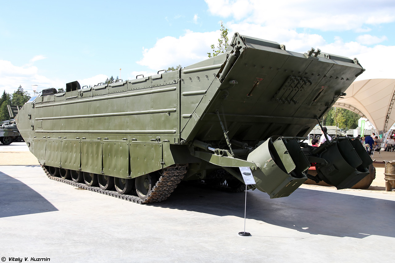 Транспортер ПТС-4 (PTS-4 amphibious transport)