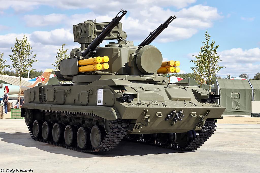 ЗСУ 2С6 ЗРПК 2К22 Тунгуска (2S6 TELAR from 2K22 Tunguska system)