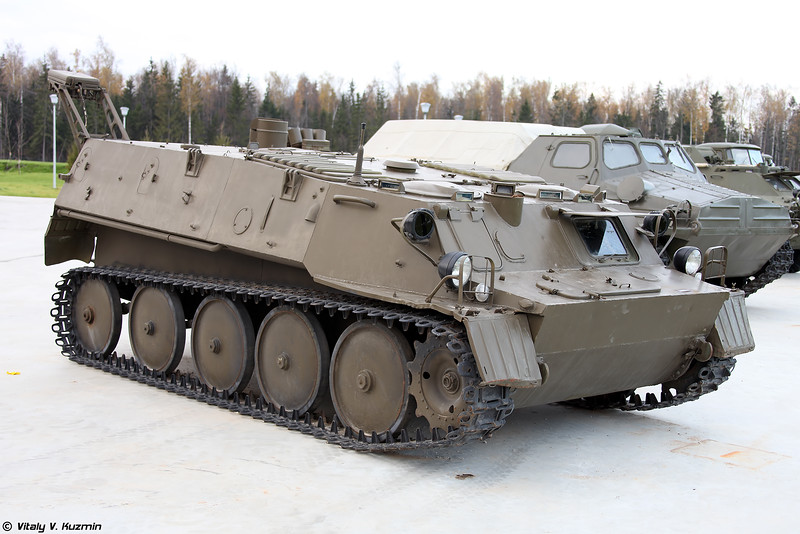 Разведывательная химическая машина РХМ-2С (RKhM-2S NBC reconnaissance vehicle)