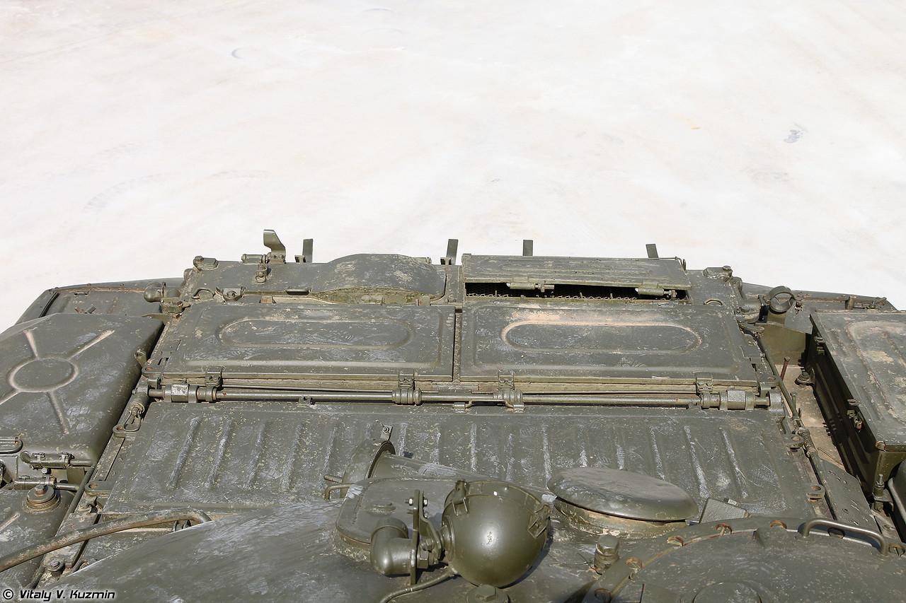 Третий Т-62М в экспозиции (The third T-62M in the Park)