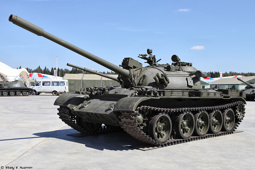 Т-55АМ ранний вариант (T-55AM early version)