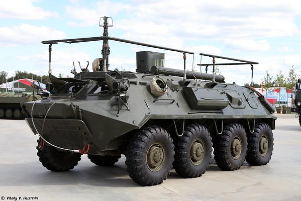 veículo de comando-equipe R-145BM Gaivota [veículo de comando R-145BM)