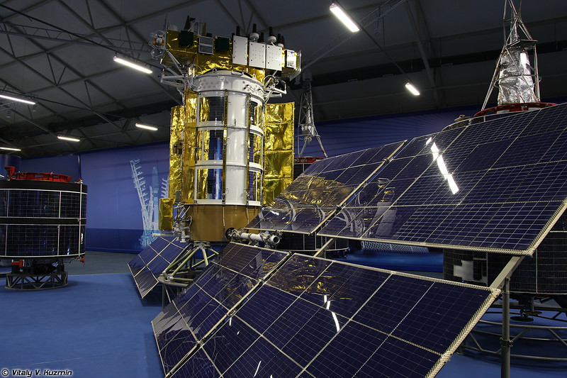 Космический аппарат Глонасс-М (Glonass-M spacecraft)
