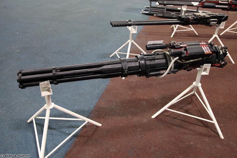 Авиационная пушка ГШ-6-23 (GSh-6-23 six-barreled 23 mm rotary cannon)