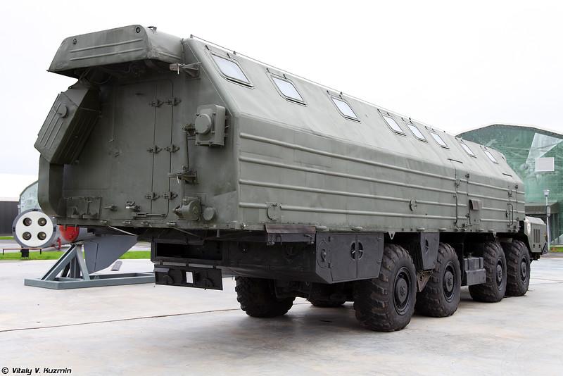 Машина-столовая агрегат 15Т117 (15T117 mobile canteen for ICBM systems)