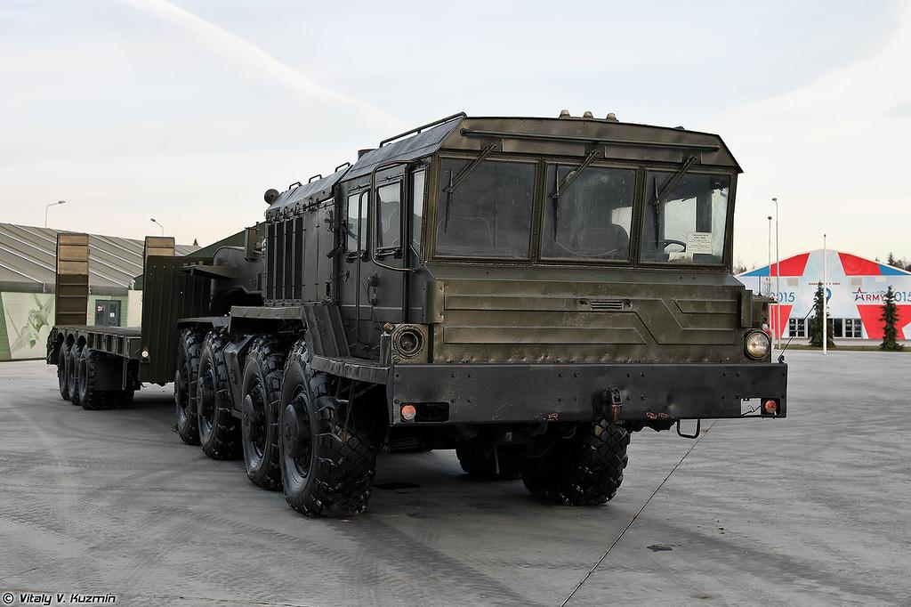 Седельный тягач КЗКТ-74281 (KZKT-74281 military tractor unit)