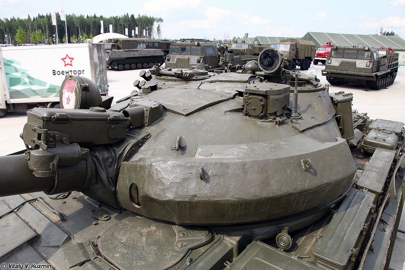 Четвертый Т-62М в Парке (The fourth T-62M in the Park)