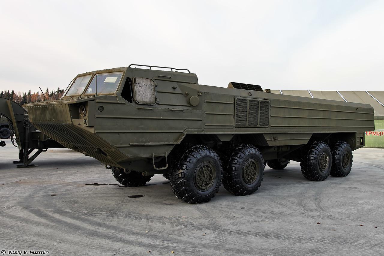Специальное колесное шасси БАЗ-6944 (BAZ-6944 special chassis)