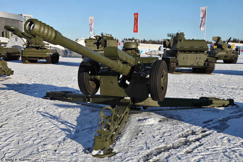122-мм гаубица 2А18 Д-30 (122mm howitzer 2A18 D-30)