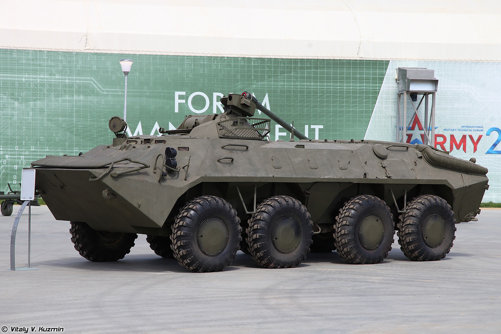 БТР-70 с башней МА-7 (BTR-70 with MA-7 turret)