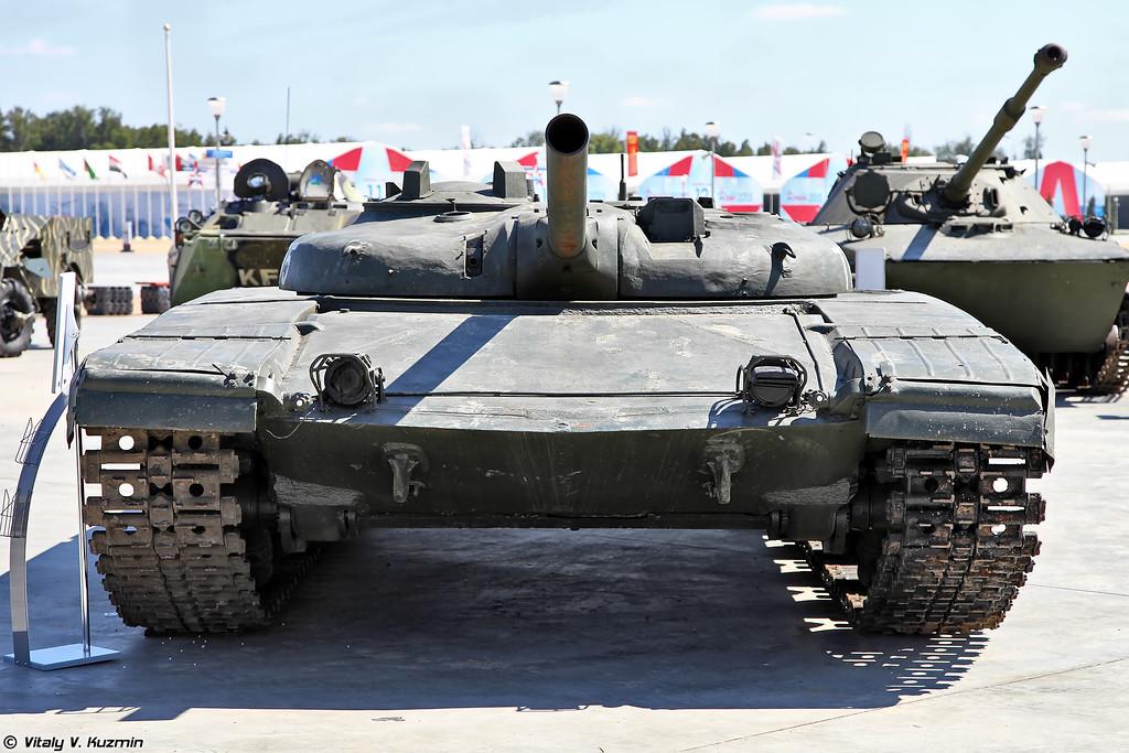 Опытный ракетный танк Объект 775 (Experimental missile tank Object 775)