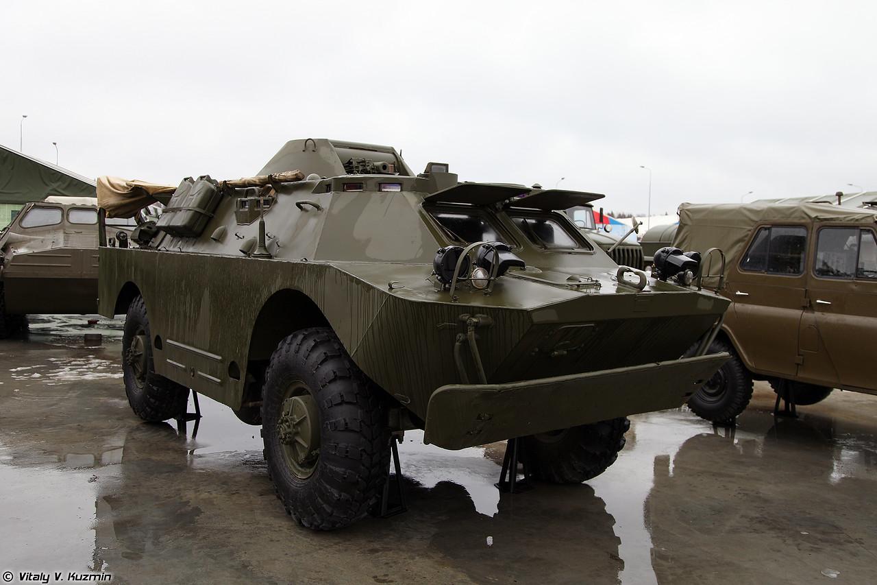 Машина радиационной и химической разведки БРДМ-2РХБ (BRDM-2RKhB NBC reconnaissance vehicle)