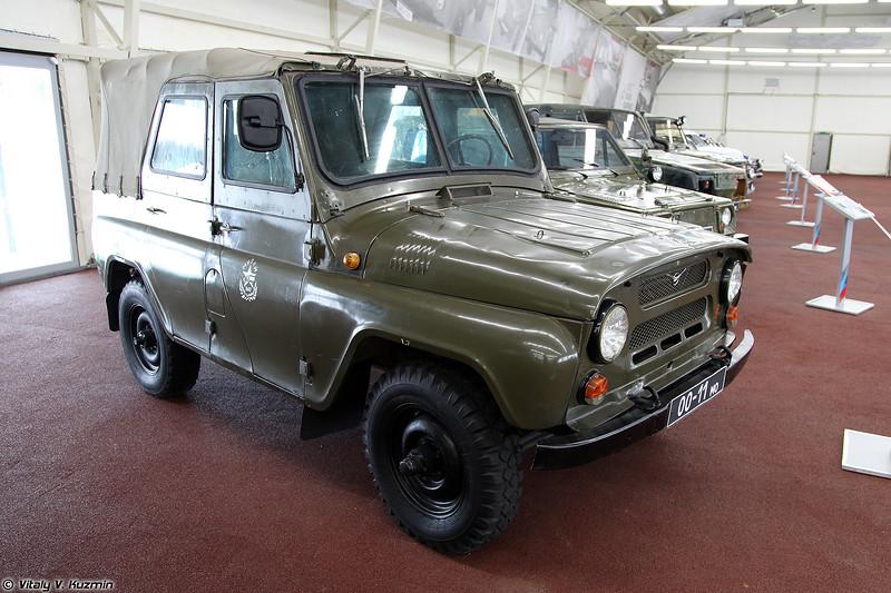 УАЗ-469 с бронированием (Armored UAZ-469)
