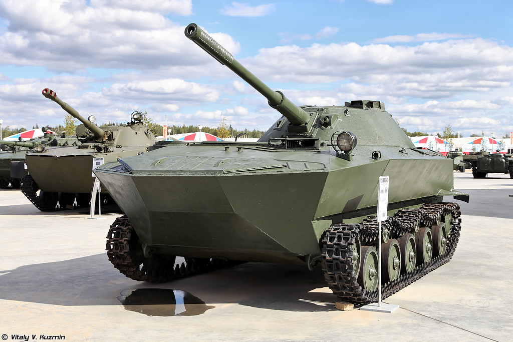 Опытный легкий плавающий танк К-90 (Experimental light amphibious tank K-90