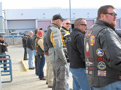 Some of the great people helping to honor our fallen soldiers.