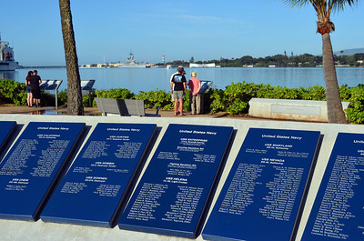 Plaques with Lost Crew Names of Many Ships