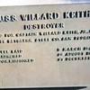 USS Willard Keith DD-775 ships plaque