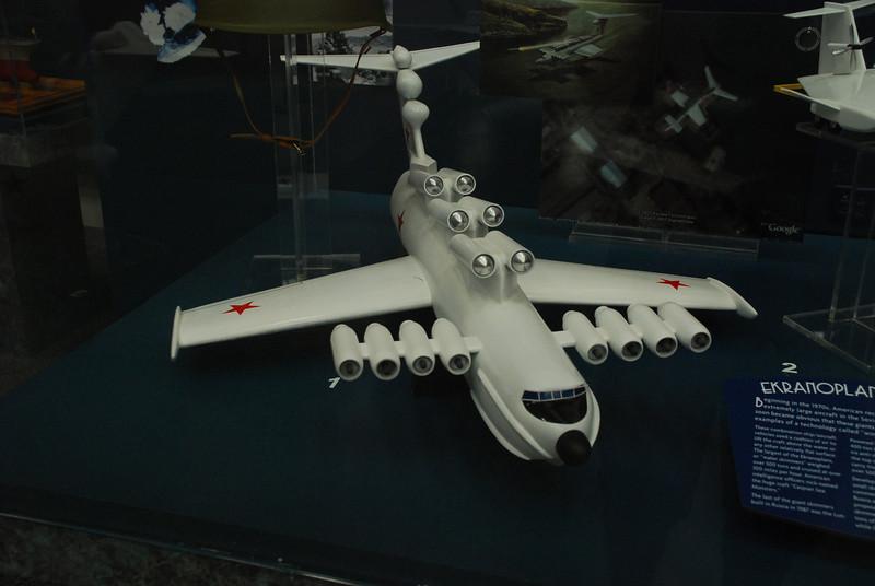 Ekranoplan - Soviet Sea Skimmer