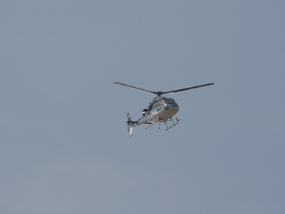 L'elicottero della TV
