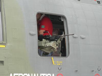 MINIMI a bordo dell'HH-3F