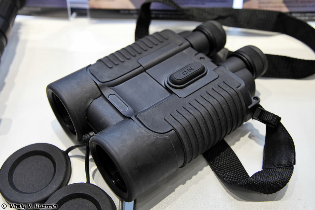 Бинокль со стабилизацией изображения БКС 20х50 (BKS 20x50 binoculars with stabilizer)