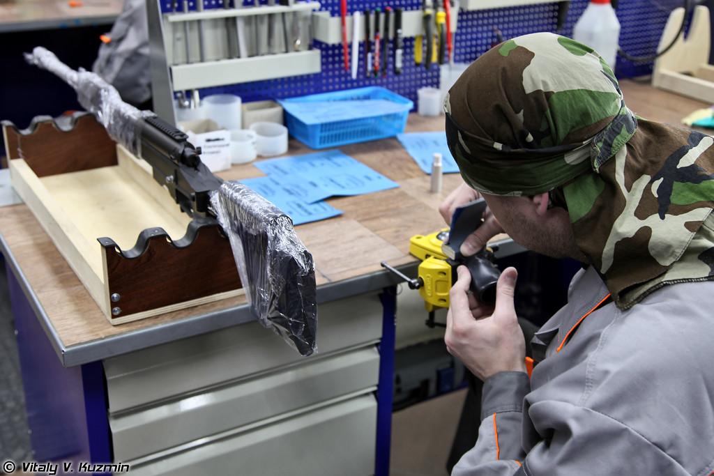 Посещение производства винтовок ORSIS с демонстрацией некоторых этапов изготовления продукции (ORSIS rifles factory)