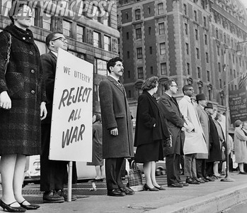 Vigil For Peace demonstration by the New York area Quakers in 1963
