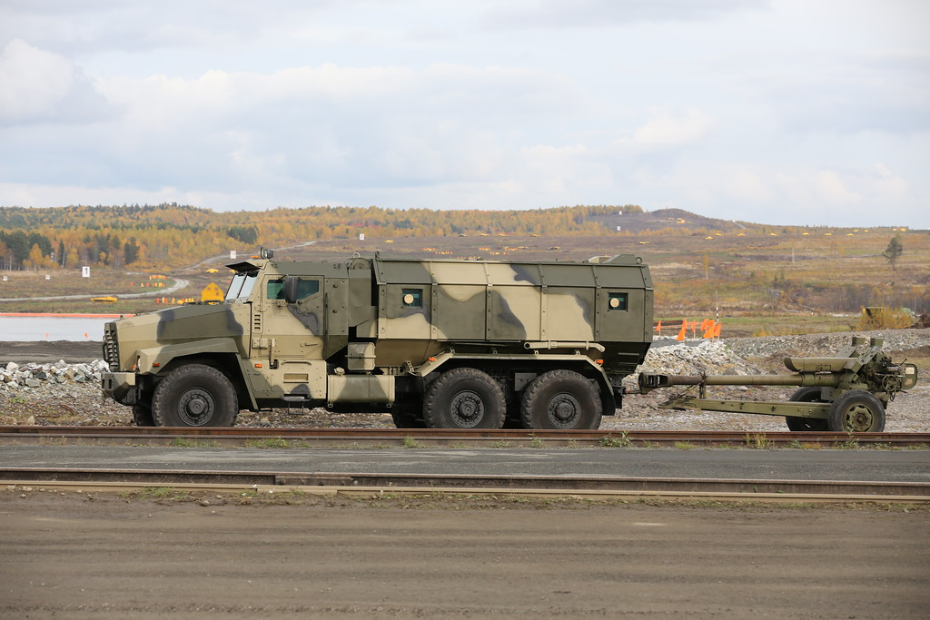 Урал-63095 Тайфун (Ural-63095 Typhoon MRAP) Автор: Алексей Китаев (Courtesy: Aleksey Kitaev)
