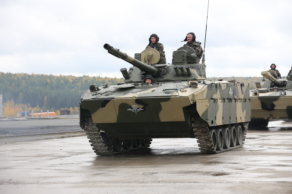 БМД-4М с усиленной защитой (BMD-4M with additional protection) Автор: Алексей Китаев (Courtesy: Aleksey Kitaev)