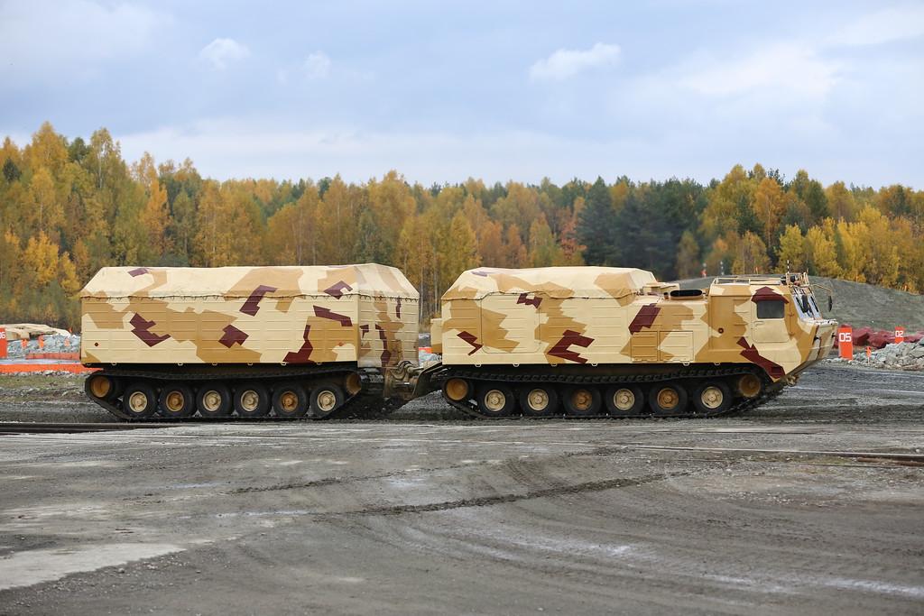 Двухзвенный гусеничный транспортер ДТ-30П1 (Tracked carrier DT-30P1) Автор: Алексей Китаев (Courtesy: Aleksey Kitaev)