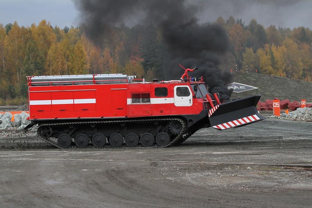 Машина прямого тушения МПТ-521 (Direct fire suppression vehicle MPT-521) Автор: Алексей Китаев (Courtesy: Aleksey Kitaev)