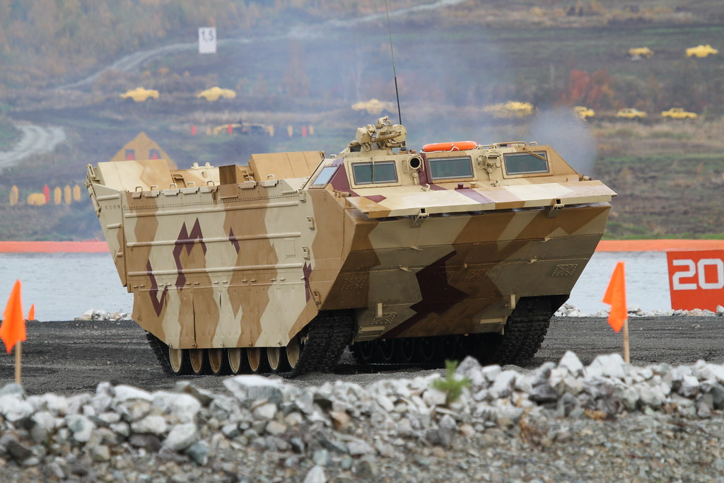 Плавающий транспортер ПТС-4 (Tracked amphibious carrier PTS-4) Автор: Алексей Китаев (Courtesy: Aleksey Kitaev)