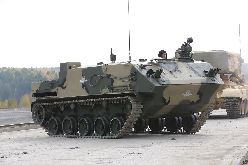 Бронетранспортёр БТР-МДМ Ракушка-М (Airborne tracked armoured personnel carrier BTR-MDM Rakushka-M) Автор: Алексей Китаев (Courtesy: Aleksey Kitaev)