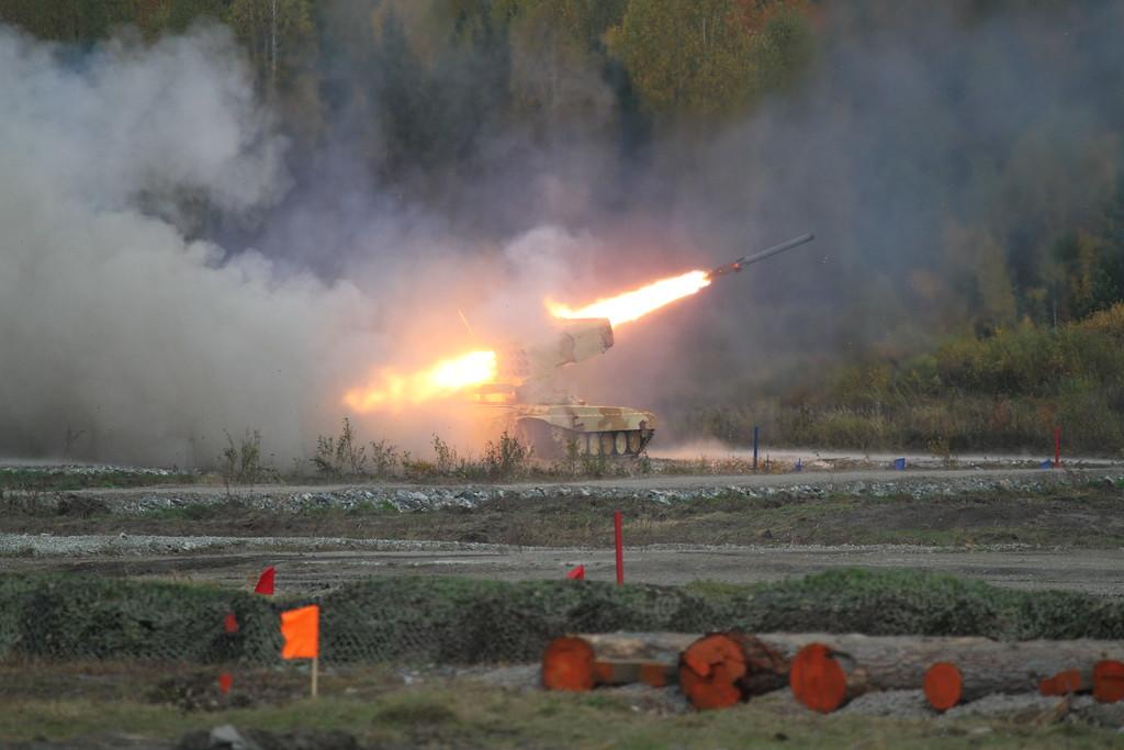 Тяжёлая огнемётная система ТОС-1А (Heavy flamethrower system TOS-1A) Автор: Алексей Китаев (Courtesy: Aleksey Kitaev)