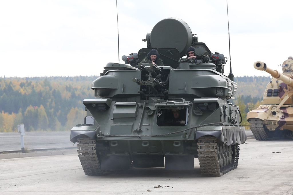 Модернизированная ЗСУ-23-4М4 Шилка-М4 (ZSU-23-4M4 Shilka-M4) Автор: Алексей Китаев (Courtesy: Aleksey Kitaev)