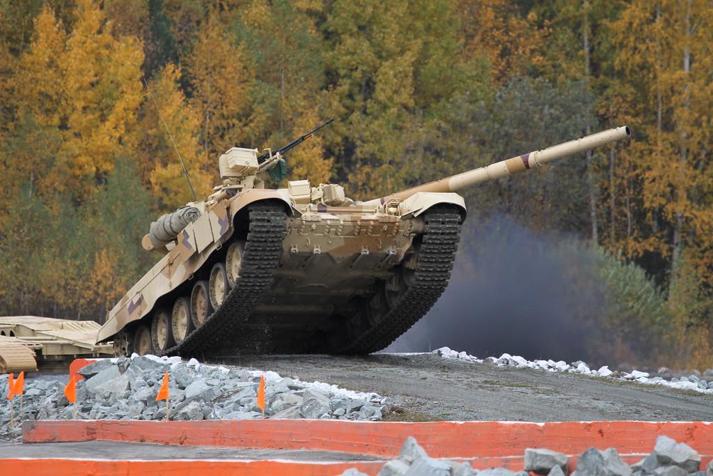 Танк Т-90С (T-90S tank) Автор: Алексей Китаев (Courtesy: Aleksey Kitaev)