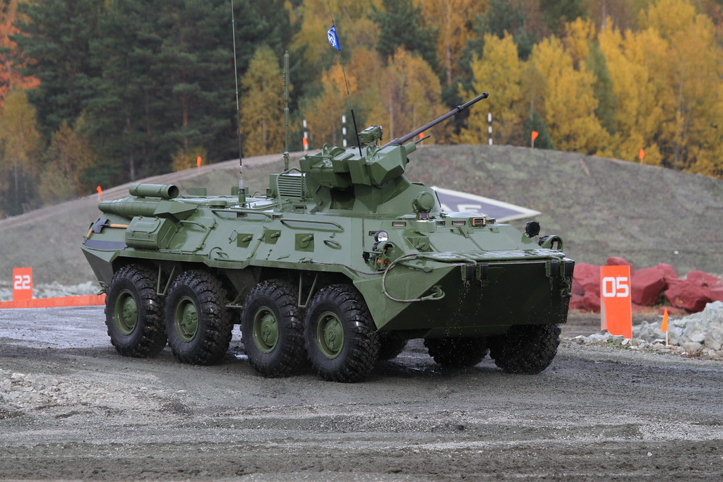 БТР-82А (BTR-82A) Автор: Алексей Китаев (Courtesy: Aleksey Kitaev)