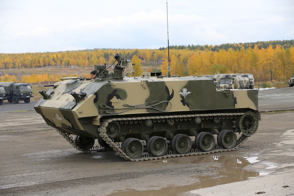 Бронетранспортёр БТР-МДМ Ракушка-М (Airborne tracked armoured personnel carrier BTR-MDM Rakushka-M) Автор: Алексей Китаев (Courtesy: Aleksey Kitaev)