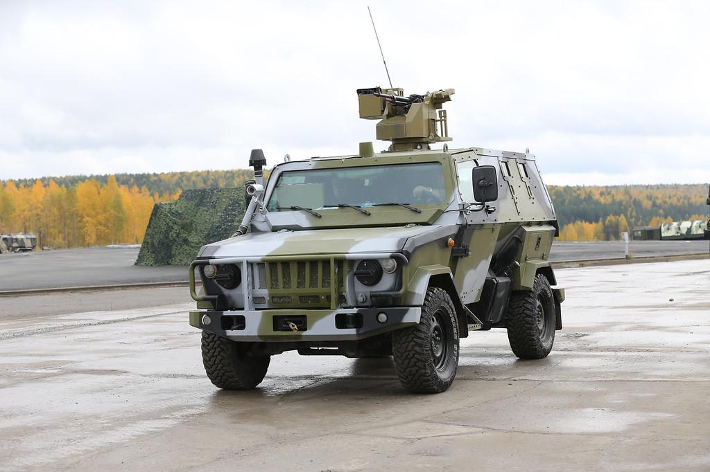 Бронеавтомобиль Скорпион-2МБ с боевым модулем (Skorpion-2MB armored vehicle with remote weapons turret) Автор: Алексей Китаев (Courtesy: Aleksey Kitaev)