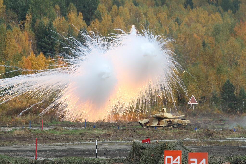 Танк Т-90СМ (T-90SM tank) Автор: Алексей Китаев (Courtesy: Aleksey Kitaev)