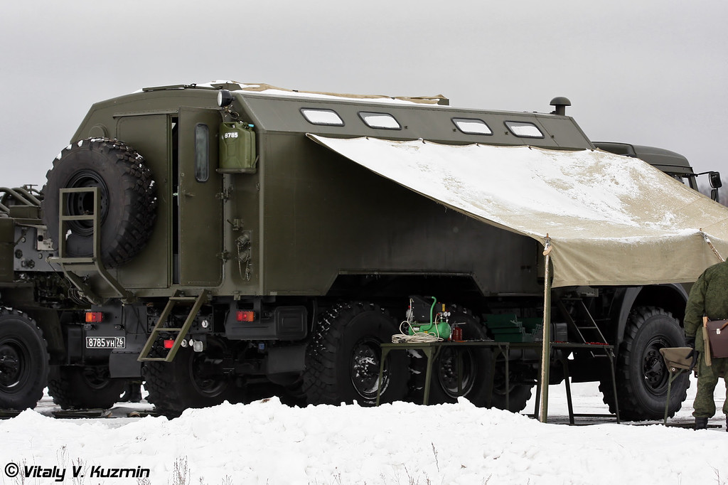 Подвижная мастерская войск РХБ защиты ПМ РХБЗ-1 (CBRN Protection Troops mobile repair shop PM RKhBZ-1)