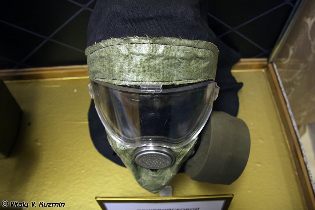Современная разработка - общевойсковой фильтрующий противогаз ПМК-4  (The most modern gas mask PMK-4. Not adopted yet)