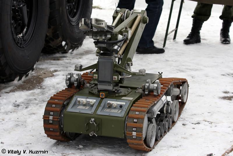 Мобильный робот МРК-РХ (MRK-RKh robot)