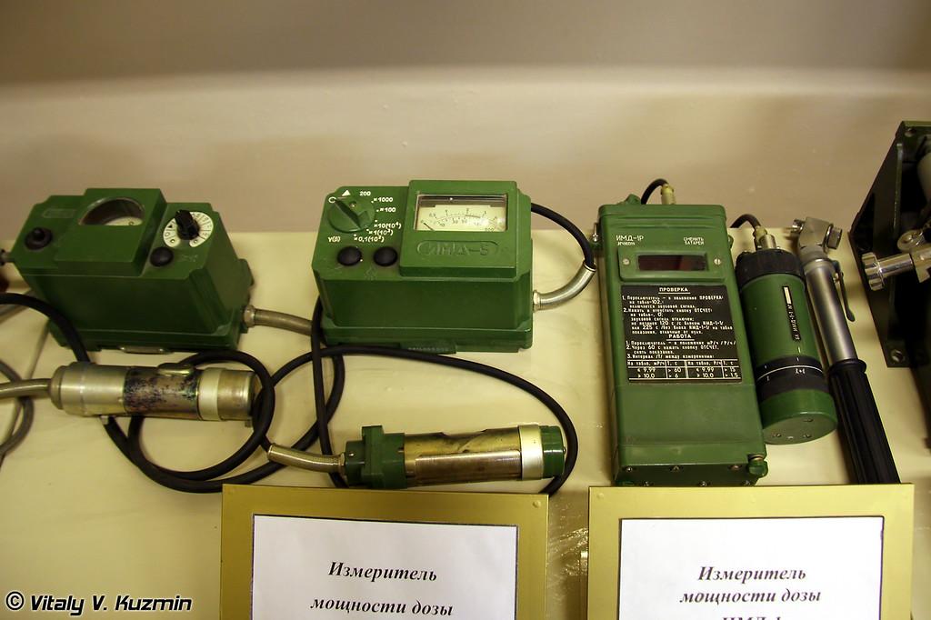 Измерители мощности дозы ИМД-5 и ИМД-1 (IMD-5 and IMD-1 radiation dose measuring devices)