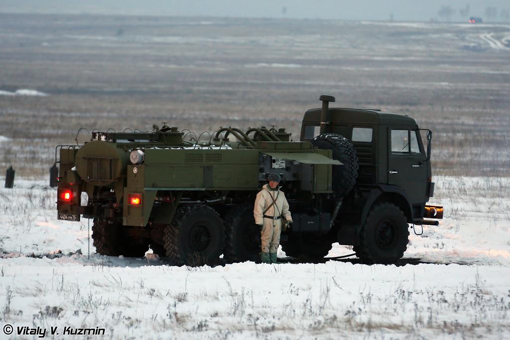 Авторазливочная станция АРС-14 (ARS-14 station)
