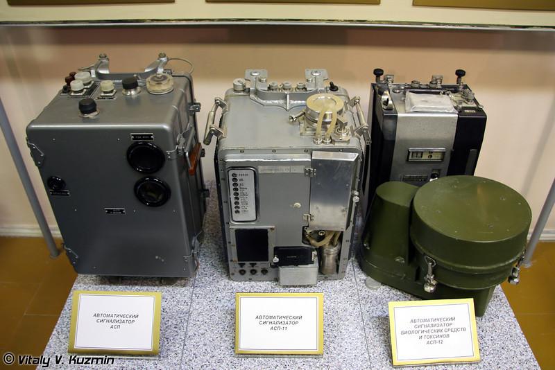 Автоматические сигнализаторы АСП, АСП-11 и АСП-12 (Automatic indicators ASP, ASP-11 and ASP-12)
